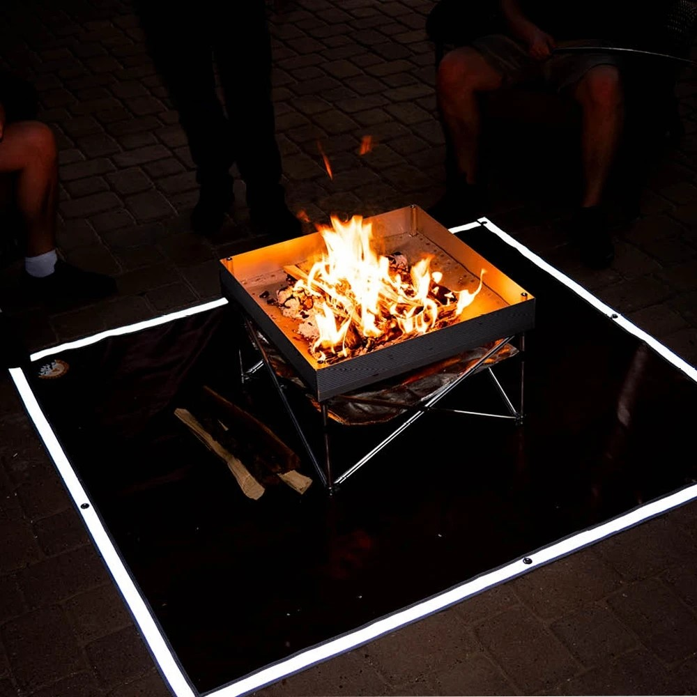 Heat Resistant Fireproof Fire Pit Pad & Grill Mat
