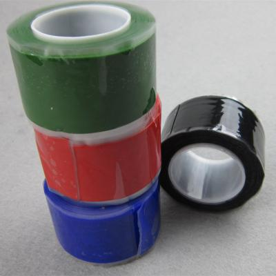 Silicone self-amalgamating tape